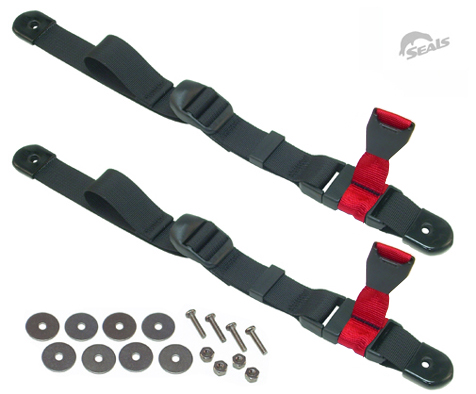 Paddle Float Rescue Straps (Pair)