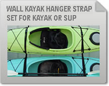 Wall Hanger Strap Set for Kayak or SUP