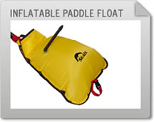Inflatable Paddle Float