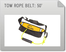 Tow Rope Belt: 50'