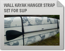 Wall Kayak Hanger Strap Set for SUP